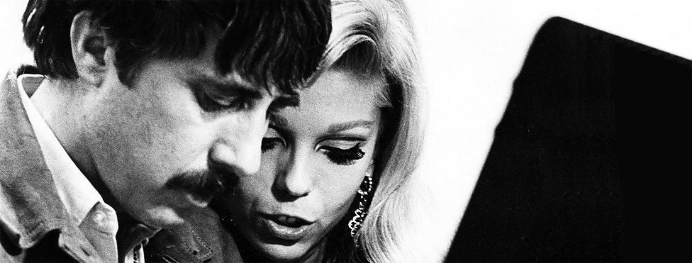 Lee Hazlewood and Nancy Sinatra, 1966.
